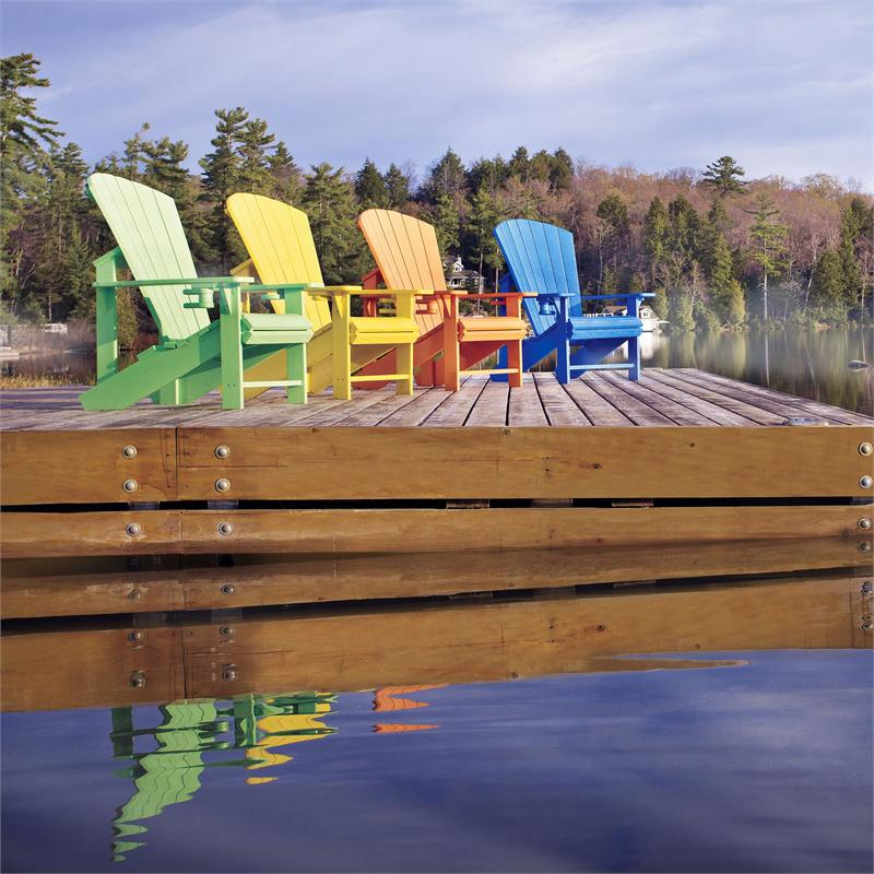 Recycled Plastic CRP Adirondack Chair @ Gotta Have It !