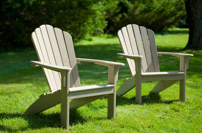 Coastline adirondack composite chairs by seaside casual Composite adirondack chairs