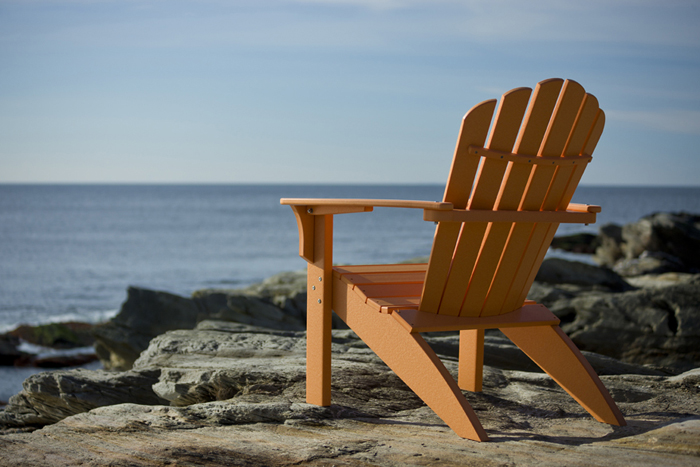 Coastline Adirondack Chair In Citrus