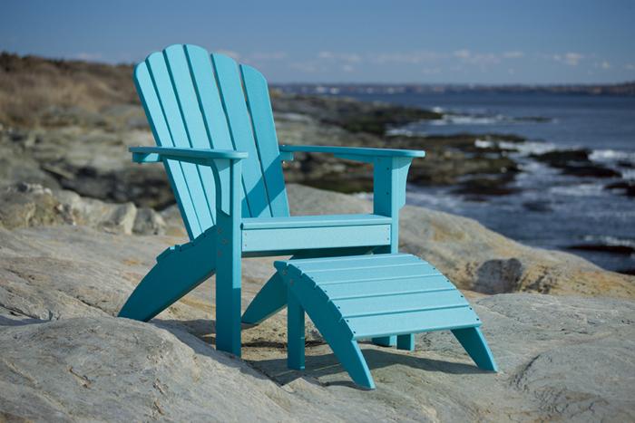 Coastline Harborview Foostool By Seaside Casual Furniture