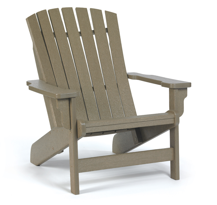 Breezesta adirondack fanback chair gotta have it inc Composite adirondack chairs