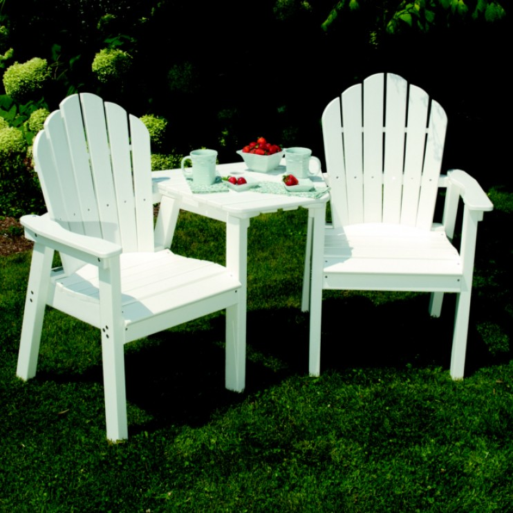 Fantastic Seaside Casual Adirondack Dining Bar Tete A Tete Tabletop Ncnpc Chair Design For Home Ncnpcorg