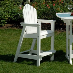Seaside Casual Adirondack Classic Bar Chair 061 Gotta