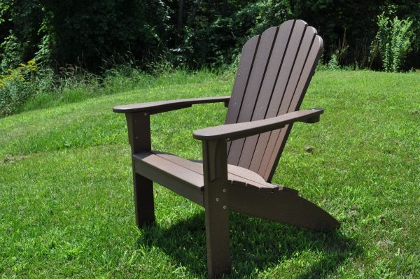Exceptionnel Coastline Adirondack Chair In Chestnut Brown.