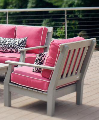 Captivating Seaside Casual Nantucket Lounge Chair (091)