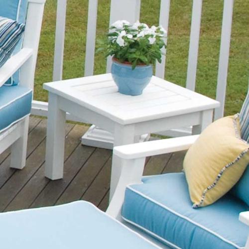 Seaside Casual Nantucket Side Table (092)