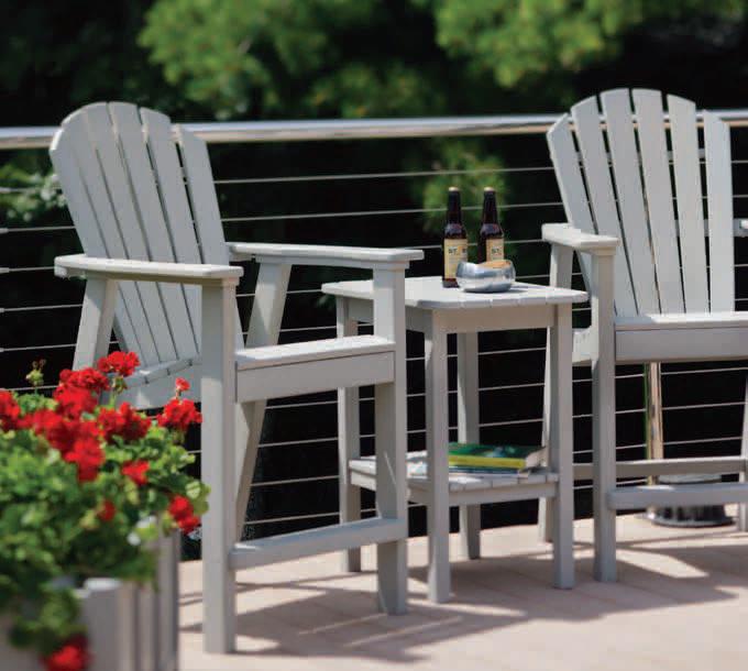 Tremendous Seaside Casual Adirondack Shellback Balcony Chair 017 Ncnpc Chair Design For Home Ncnpcorg