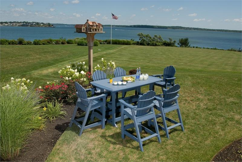 Seaside Casual Adirondack Classic Bar Chair (061)