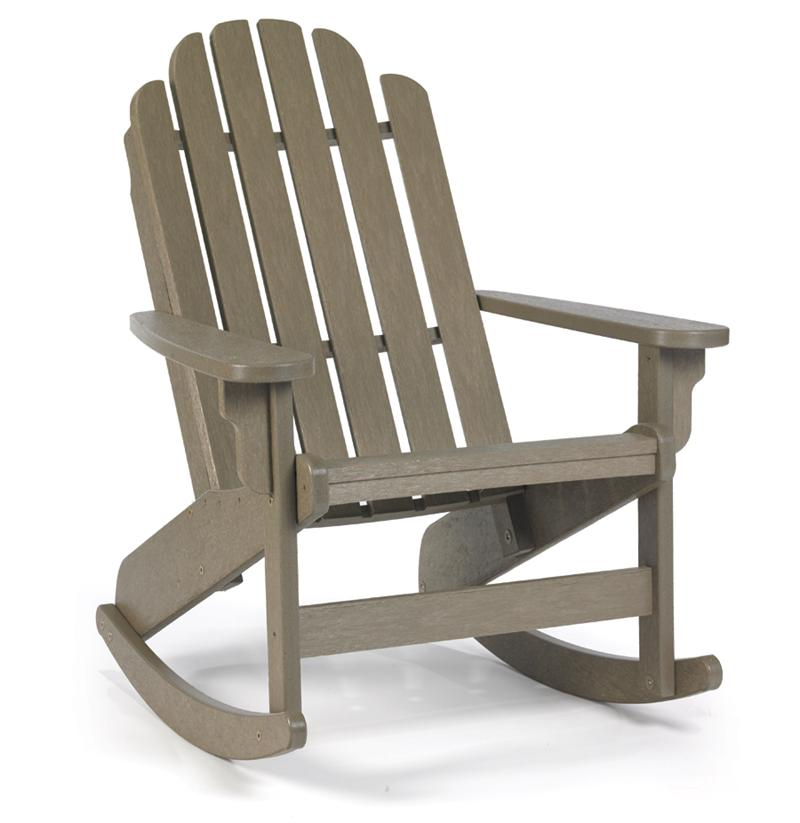 Breezesta adirondack shoreline rocker gotta have it inc Composite adirondack chairs