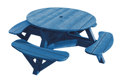 Crp 51 Quot Round Picnic Table Color Frame Gotta Have It Inc