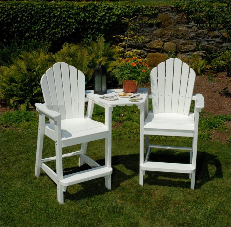 Remarkable Seaside Casual Adirondack Dining Bar Tete A Tete Tabletop Ncnpc Chair Design For Home Ncnpcorg