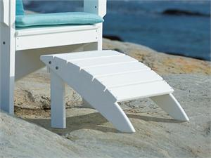 Coastline Harborview Footstool by Seaside Casual Furniture