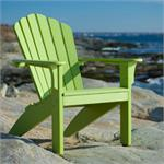Seaside Casual's Coastline Adirondack Chair in Leaf Green